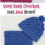 Easy Crochet Scarf für Frauen