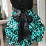 Leopardenmuster Kleid