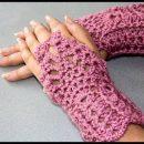 Häkeln Sie Handschuhe