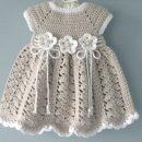 Häkeln Sie Baby Kleid