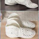 Häkeln Sie Sockenmuster