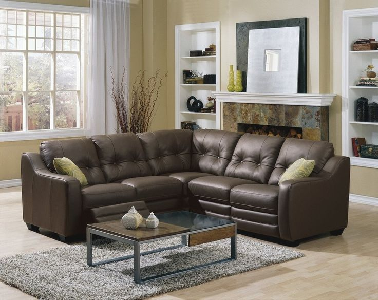 Small Scale Sectional Sofas - rosedel.com/interiors
