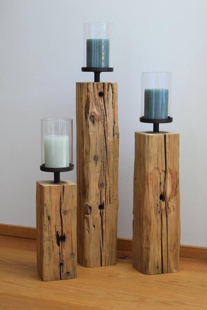 Altholz Windlicht Design Balken Säule Weihnachten Advent Different Sofa Sets