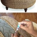 Best of recycling - 75 upcycling ideas that will inspire you - decorative milk   Ottoman Ideas