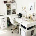 Top 25+ DIY Computer Schreibtisch Ideen für Heimbüro – Raum Dekoration Home Computer Desk